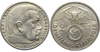 Reichsmark Former currency of Germany