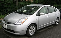 2004-2007 Toyota Prius photographed in USA.
