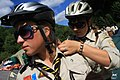 2nd Ukrainian Scout Jamboree 2009 - cyclists.jpg
