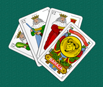 Quadrille (card game) - Spanish playing cards used in Quadrille