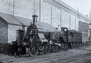 GNR Stirling 4-2-2 class of 53 two-cylinder 4-2-2 locomotives