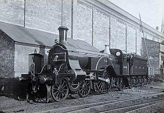 GNR Stirling 4-2-2 - GNR 1008