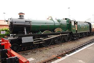 GWR 4900 Class - Image: 4930 Hagley Hall