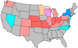 United States House of Representatives elections, 1918 - Image: 66 us house changes