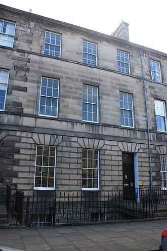 Andrew Skene - Skene's home at 75 Great King Street, Edinburgh