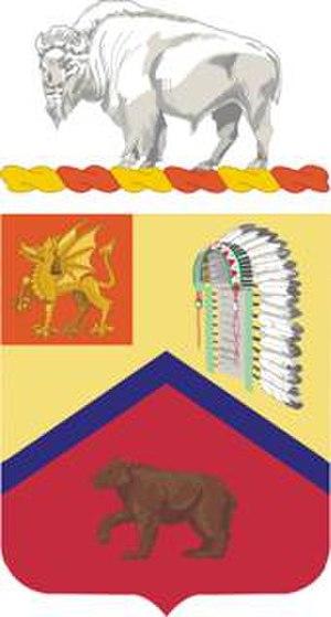 83rd Field Artillery Regiment - Coat of arms