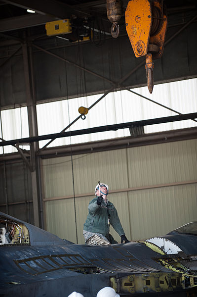 File:8th Maintenance Squadron crash damage disable aircraft recovery team 140322-F-BS505-018.jpg
