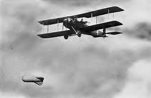 90th Aero Squadron - 90th Aero Squadron - Salmson 2A2 in Flight.
