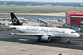 9A-CTM A320-212 Croatia Al(Star Alliance cs) FRA 16AUG05 (5813526572).jpg