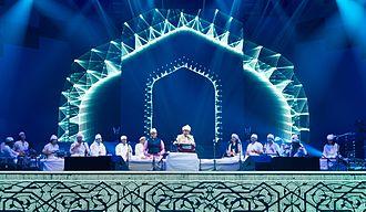 A. R. Rahman - A. R. Rahman at Sufi Concert in Dubai