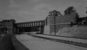 Twyford Down - The original A33 Winchester Bypass, designed to 1930s standards, was unsuitable for modern traffic.