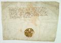 AGAD Konrad Kenthner, ksiaze olesnicki, oswiadcza, ze Wladyslaw Jagiello wyplacil mu 200 grzywien odszkodowania.png