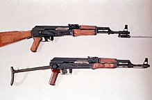 AK-47 and Type 56 DD-ST-85-01269
