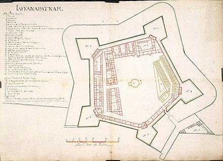 ジャフナ要塞 スリランカ