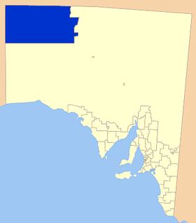 Anangu Pitjantjatjara Yankunytjatjara Local government area in South Australia