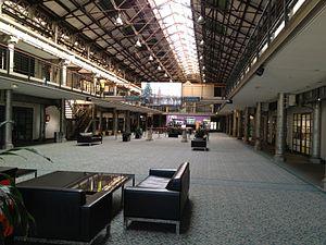 Australian Technology Park - Image: ATP Locomotive Workshop Inside Bay 8