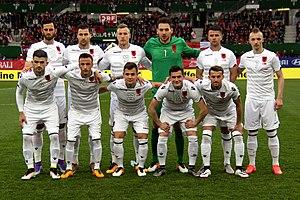 Albanische FuГџballmannschaft