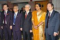 A Parliamentary delegation from Vietnam led by the Chairman of the National Assembly of Vietnam, Mr. Nguyen Phu Trong called on the Speaker, Lok Sabha, Smt. Meira Kumar, in New Delhi on February 24, 2010.jpg