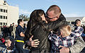 A U.S. Air Force sergeant is reunited with his family at Mountain Home Air Force Base, Idaho, Oct. 3, 2013, after returning from a six-month deployment to Southwest Asia 131003-F-WU507-142.jpg