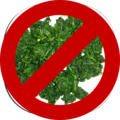 A boiled spinach below a prohibit sign.png