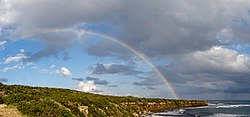 A double rainbow in Akamas Peninsula, Cyprus.jpg