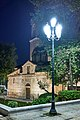 A lamp post next to the Church of Saint Eleftherios in Mitropoleos Square.jpg