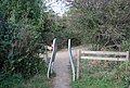 A squeeze stile, Haysden Country Park - geograph.org.uk - 1526681.jpg