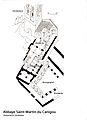 Abbaye Saint-Martin du Canigou, Handskizze.jpg