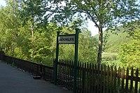 Abergynolwyn station sign - geograph.org.uk - 801244.jpg