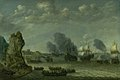Abraham Willaerts - A Battle near a Coast between Spaniards and Disembarking Dutchmen - KMSsp441 - Statens Museum for Kunst.jpg