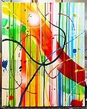 Abstrakt konst av Max Gustafson