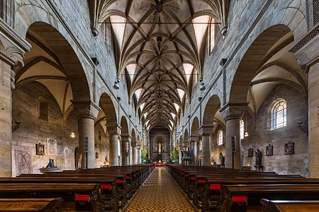 Interior of Seckau Basilica, Styria