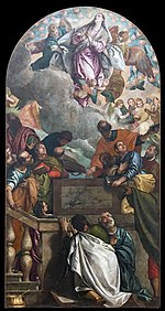 Accademia - Assumption of the Virgin by Veronese cat265.jpg