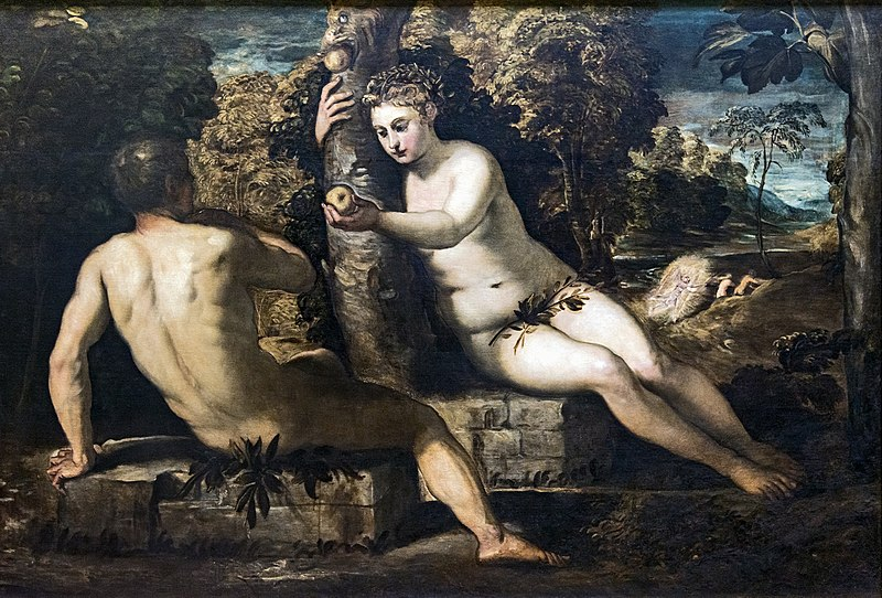 Plik:Accademia - The Temptation of Adam by Jacopo Tintoretto.jpg