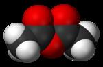 Ättiksyraanhydrid (modell)