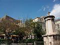 Acròpoli i monument a Lisícrates (Atenes).JPG