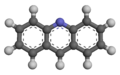 Acridine - 3D - Ball-and-stick Model.png