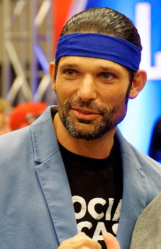 Adam Rose - Krugar as Adam Rose in April 2016