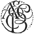 Adam and Charles Black Logo.png