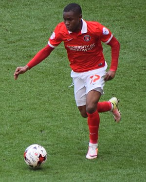 Ademola Lookman - Lookman playing for Charlton Athletic in 2016