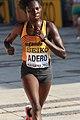 Adero Nyakisi of Uganda at the 2012 World Half Marathon Championships in Kavarna, Bulgaria.jpg