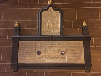 Max Horton - Admiral Sir Max Horton memorial at Liverpool Cathedral