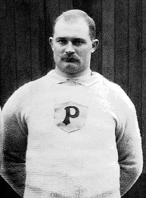 Adolf Bergman - Bergman at the 1912 Olympics
