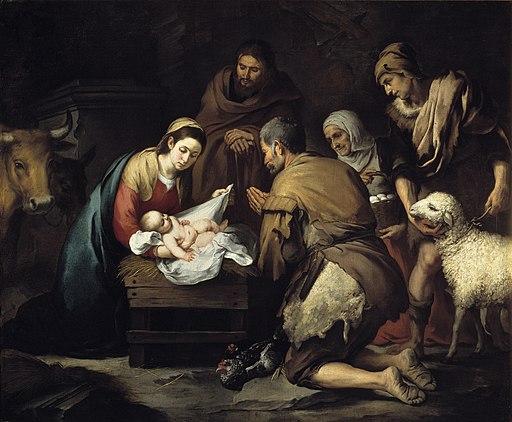 Adoración de los pastores (Murillo)