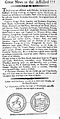Advert for the practise of James Hallett, a quack Wellcome L0000046.jpg