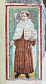 Affresco San Antonio di Padova 1472 Santuario del Carmine San Felice del Benaco.jpg