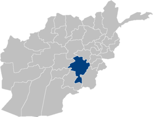 Afghanistan Ghazni Province location.PNG