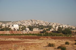 Afrin, Syria - View of Afrin  (2009 photograph)
