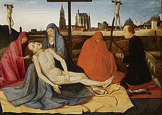 Pietà with Donor