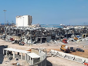 Aftermath of the 2020 Beirut explosions august 6 2020 09.jpg